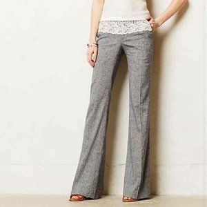 Anthropologie Laced The Brighton Trousers